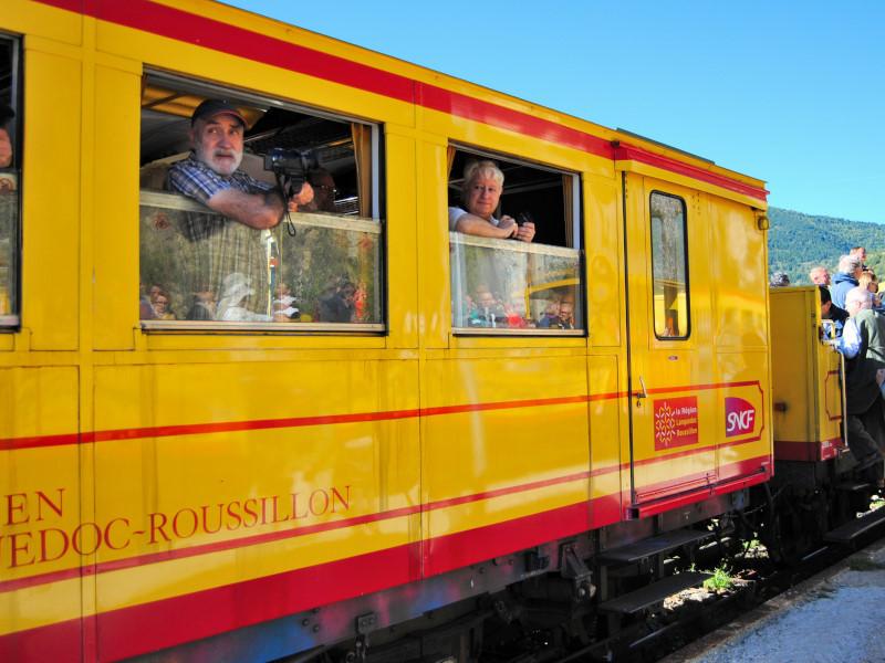 Viatge Tren Groc